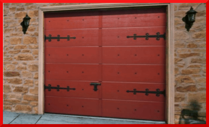 Retro style doors garage doors north wales for 1950s front door styles