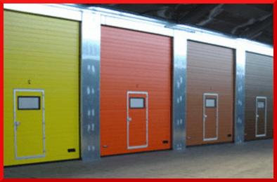Ultra Thermo Industrial Doors & Wicket Doors | Garage Doors - North Wales