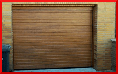Ribbed Wood Garage Doors Garage Doors North Wales
